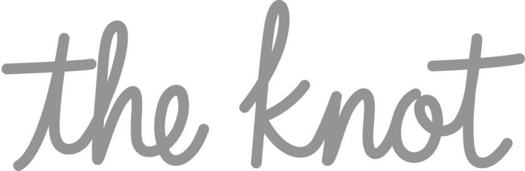 the knot wedding logo